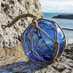 Blue Glass Float | Decorative Floats | Wall Hanging ...