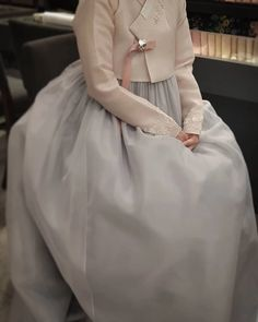 The Dan Women – Page 2 – Hanbok The Dan ‧ Made with ♥ Korean Traditional Dress, Traditional Fashion, Traditional Dresses, Dress Attire, Dress Outfits, Dress Up, Korean Dress, Korean Outfits, Couture Fashion