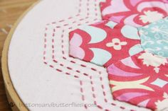 Hexie Hoop - Free Quilting Pattern on Craftsy