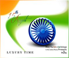 Celebrating the glorious years of Independence and Progress. Happy #IndependenceDay from Luxury Time!