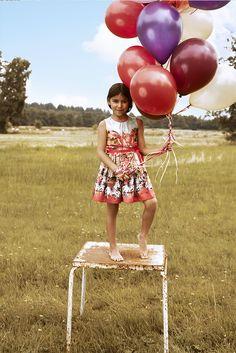 Jottum zomer - girls kids birthday photo shoot portrait styling