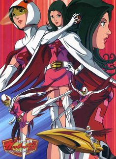Dedicated to Battle of the Planets, Gatchaman and anime fanservice Old Cartoons, Classic Cartoons, Manga Anime, Japanese Superheroes, Battle Of The Planets, Cartoon Tv, Cultura Pop, Comic Book Characters, Anime Comics