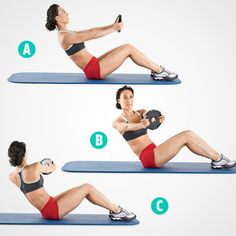 Tone Your Abs on a Mat: 5 Moves Better Than Crunches  http://www.womenshealthmag.com/fitness/crunch-variations?cm_sp=Hotlist-_-Fitness-_-ToneYourAbsonaMat5MovesBetterThanCrunches