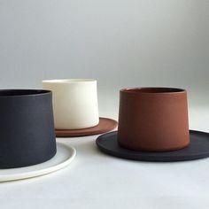 interior home design ideas Pottery Mugs, Ceramic Pottery, Ceramic Cups, Ceramic Art, Ceramic Studio, Pottery Designs, Ceramic Design, Pottery Painting, Artisanal