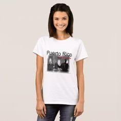 Puerto Rico Mi Musica T-Shirt  $18.95  by joemojica  - cyo diy customize personalize unique