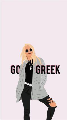 go greek Graphics Delta Phi Epsilon, Phi Sigma Sigma, Alpha Omicron Pi, Kappa Kappa Gamma, Pi Beta Phi, Tri Delta, Alpha Chi Omega, Alpha Sigma Alpha, Phi Mu