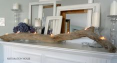 8 DIY Driftwood Centerpieces For Festive Decorating