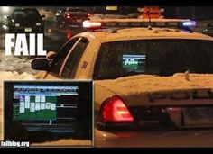Check out 10 of the worst police fails ever.