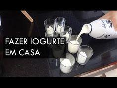 Como fazer iogurte em casa - Iogurteira - YouTube