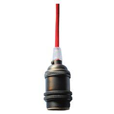 Hanging Lamp Shade Wiring Kit Keyless Socket