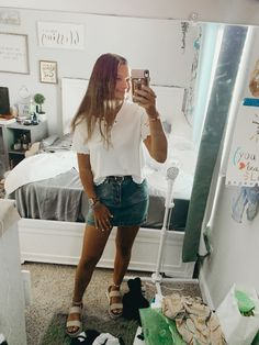 Biggest Trends In Women S Fashion Product Cute College Outfits, Casual School Outfits, Teenage Outfits, Teen Fashion Outfits, Basic Outfits, Cute Casual Outfits, Girly Outfits, Cute Summer Outfits, Outfits For Teens