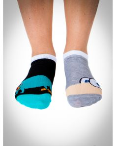 Phineas And Ferb No Show Socks
