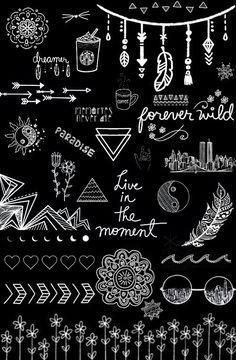 Black And White Wallpaper Overlays Transparent Tumblr Black And White