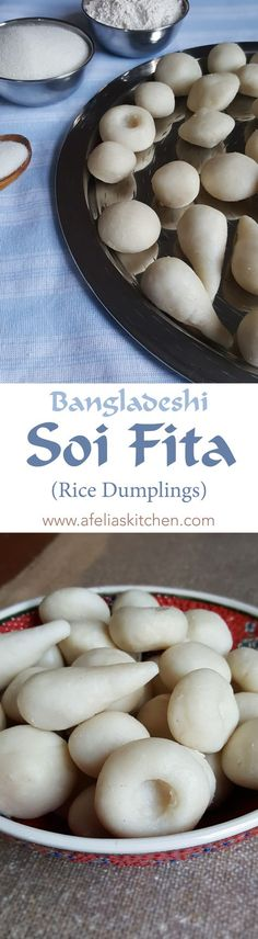 Bangladeshi Soi Fita (Rice dumplings), step by step easy to follow photo recipe. Soi Fita are traditional Bengali rice dumplings, eaten on special occasions such as Eid. This is a Bangladeshi authentic recipe.