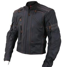 Vulcan Armored Jacket with Thermomix Insulation. The Vulcan Motorcycle Jacket is made of premium cowhide leather. It features advanced design with. Vulcan is motorcycle gear fit for Kings. Motorcycle Leather, Biker Leather, Cowhide Leather, Leather Men, Black Leather, Motorcycle Gear, Motorcycle Jackets For Men, Steampunk Motorcycle, Motorcycle Equipment