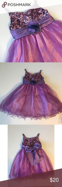 Tip Top U.S.A Sequins Purple Dress 24 months Tip Top U.S.A Sequins Purple Dress 24 months   ::::bag93 Tip Top Kids Dresses Formal