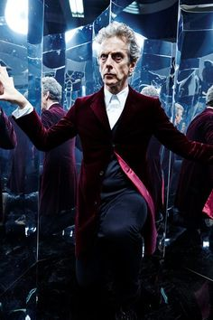 Doctor Who: The Magician's Apprentice pictures with Peter Capaldi and Jenna Coleman I Am The Doctor, Bbc Doctor Who, Twelfth Doctor, 12th Doctor, Tardis, Mark Strong, Doctor Picture, Thing 1, Female Doctor