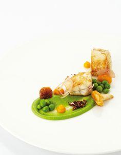 Pladijs in de oven met erwtjes, jonge wortelen en dooierzwammen - Ambiance - Paul Hendrickx !