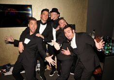 These Pictures Of NSYNC Reunited Back Stage Will Basically Make You Die