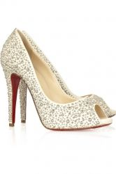 Christian Louboutin Studio 120 Peep Toe Pumps [CL010615] - $160.00 : Christian Louboutin Outlet Shoes for you!, The masterpieces of famous designer Christian Louboutin
