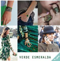 O verde esmeralda foi a cor de 2013, mas continua em alta nessa estação. Aposte!