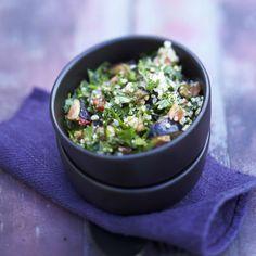 Découvrir la recette du taboulé de quinoa et figues