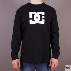 Czarny longsleeve DC koszulka z długim rękawem Star LS Black / www.brandsplanet.pl / #dc shoes #skateboarding