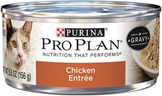 Purina Pro Plan Wet Cat Food, Savor, Salmon Entre, 5.5-Ounce Can, Pack of 24 ** For more information, visit image link. (This is an affiliate link and I receive a commission for the sales) #CatCare