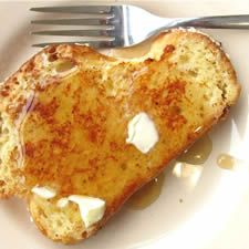 """When we tested this recipe, it met with universal acclaim. """"This is the best French toast I've ever tasted"""" sums up most of the comments. The difference between this and everyday, run-of-the-mill French toast? The quality of the ingredients. Start with a high-rising, golden-white, tasty white bread; challah is a particularly good choice. Slice it thick; we found 5/8-inch just about right. Bathe it in cream and eggs accented with nutmeg, vanilla and a touch of rum. Sauté it gently in butter…"""
