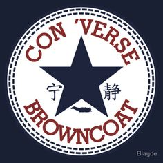Con 'Verse Browncoat - Firefly T-shirts are never not cool.