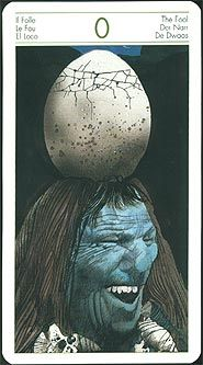 Tarot of Origins, unsure how I feel about this one, it's... different
