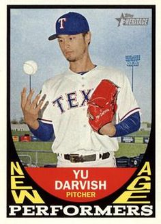 2016 Topps Heritage - New Age Performers #NAP-YD Yu Darvish Front