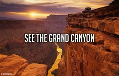 ✔️Visited the Grand Canyon (October 2005) Also watched the sunrise! Absolutely breathtaking !