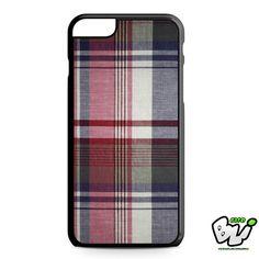 Plaid Color iPhone 6 Plus Case | iPhone 6S Plus Case