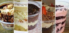 Hoje eu separei cinco recheios para bolo no pote, para você variar nas suas receitas e dar uma alavancada nas suas vendas. 5 Recheios Para Bolo no Pote. Cupcakes, Cupcake Cakes, Köstliche Desserts, Delicious Desserts, My Recipes, Sweet Recipes, My Favorite Food, Favorite Recipes, Cake In A Jar
