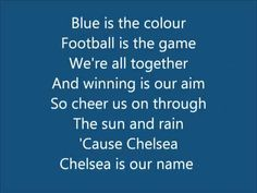 CHELSEA FC ANTHEM - Blue Is The Colour (With On-Screen Lyrics)