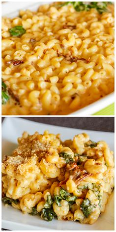 Macaroni and Cheese with Sun-dried Tomatoes and Spinach | #recipe #cheese #vegetarian | http://thecookiewriter.com