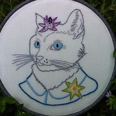 Stitched - Ryan Berkley pattern by Sublime Stitching #embroidery by Fiber Fairy, via Flickr