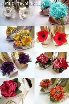 Fabulous floral shoe (or anything!) clips!