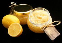 Lemon body scrub