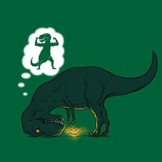 poor T-rex :( - I want this on a tshirt