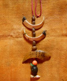 Piaroa Shaman's Medicine Necklace Used For Ceremonies Original Authentic Venezuela Collectable Rare by EthosEthnicArt on Etsy