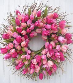 Les tulipes annoncent le printemps! | Les idées de ma maison #deco #fleurs #tulipe #printemps