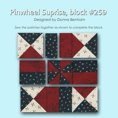 100 Blocks Sampler Sew Along   Block 18 + giveaway