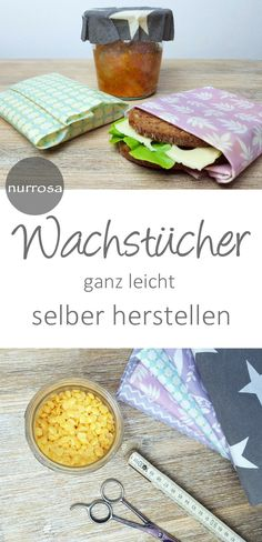 Wachstücher selber herstellen Anleitung – nurrosa autour du tissu déco enfant paques bébé déco mariage diy et crochet Upcycled Crafts, Upcycled Clothing, Clothing Hacks, Diy Projects For Kids, Diy For Kids, Crafts For Kids, Homemade Crafts, Diy And Crafts, Rock Crafts