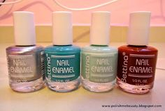 Polish Me Beautiful: Bettina Nail Enamel Review / Reseña Esmaltes Bettina