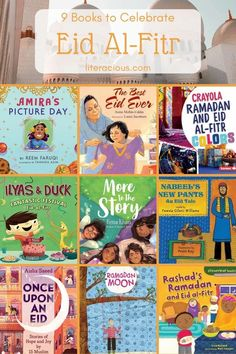 9 Books to Celebrate Eid Al-Fitr Picture Day, S Pic, Love Short Stories, New Books, Good Books, Eid Al Fitr, Types Of Books, Chapter Books, Book Themes
