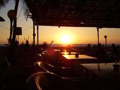 Sunset from Dunes restaurant, Goa, India Goa India, Sunrises, Globe, Restaurant, Celestial, Places, Outdoor, Breaking Dawn, Outdoors