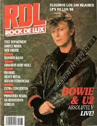 magazine covers David Bowie
