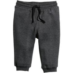Sweatpants $6.99 (13 BRL) ❤ liked on Polyvore featuring baby, kids, baby boy, bottoms and pants